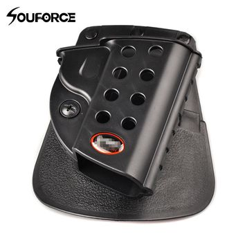 M1911 Series Tactical Gun Holster with 8 Holes Military Airsoft Pistol Gun Bag for Outdoor Hunting Accessories