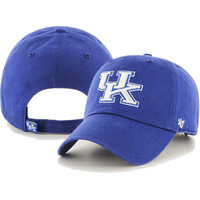 '47 Brand Kentucky Wildcats Clean Up Adjustable Hat (Royal)