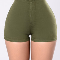 Sexy Clean Shorts - Olive
