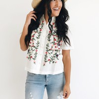 Lissette Embroidered Blouse