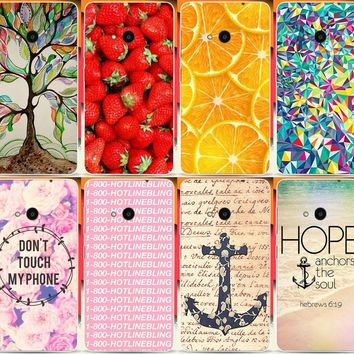 New Arrival Fortunately luminous tree Fruit Painted Cases For Microsoft Nokia Lumia 535 N535 Mobile Phone Case Cover Shell Capa