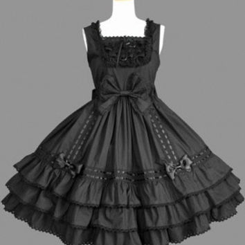 Gothic Black Lolita Dress Lolita Clothing costumes cosplay halloween Christmas Alternative Measures - Brides & Bridesmaids - Wedding, Bridal, Prom, Formal Gown
