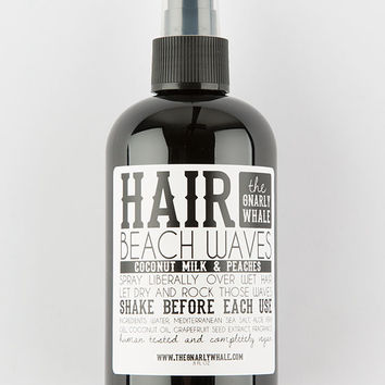 THE GNARLY WHALE Coconut Milk and Peaches Beach Waves 8oz | Hair