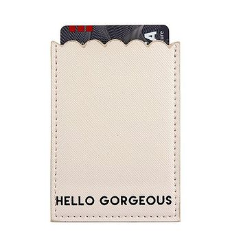 Hello Gorgeous Phone Pocket in Pink