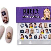 Buffy the Vampire Slayer Nail Decals