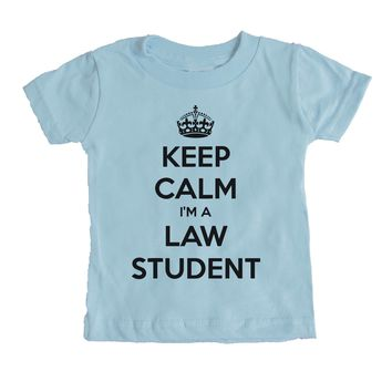 Keep Calm I'm A Law Student Baby Tee