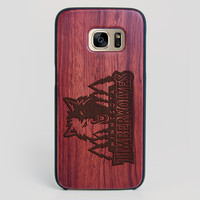 Minnesota Timberwolves Galaxy S7 Edge Case - All Wood Everything