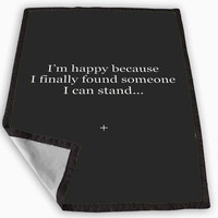 Quotes Valentine s Day Blanket for Kids Blanket, Fleece Blanket Cute and Awesome Blanket for your bedding, Blanket fleece *