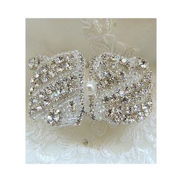 TH-116 Wedding Bridal Rhinestones Crystal Bracelet