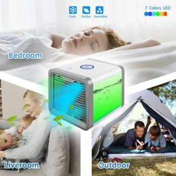 Personal Space Cooler 3-in-1 Evaporative Air Conditioner, Humidifier, Air Purifi