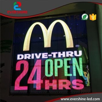 2017 the most popular high brightness window glass curtain transparent led display screen usage for bank, supermarket, theater