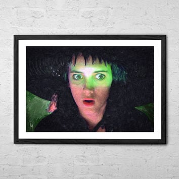 Lydia Deetz - Beetlejuice, Painting - Wall art Poster - Fine Art Print for Interior Decoration
