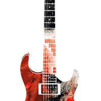 Electric Guitar by Sharon Cummings by Sharon Cummings on Crated