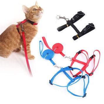 Traction Harness Belt Rope Cat Leash