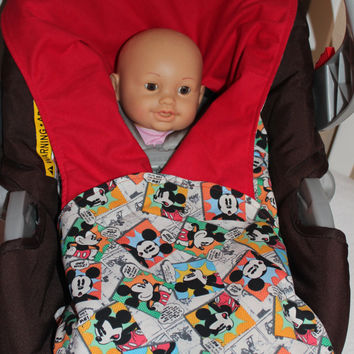 Mickey Mouse Medium Weight Swaddler