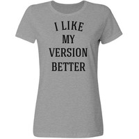 I like my version better: Creations Clothing Art