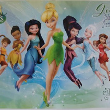 Disney Fairies Giant Coloring and Activity Book