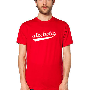 Funny Drinking Shirt - Funny T Shirt - Alcoholic - Drunk Shirt - College Humor - Beer Tshirt - Bar Shirt - Alcohol Tee - Beer Shirt - Liquor