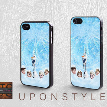Disney frozen, Phone Cases, iPhone 5 Case, iPhone 5s Case, iPhone 4 Case, iPhone 4s case, Case for iphone, Case No-1060
