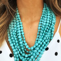 Make This Last Necklace: Turquoise
