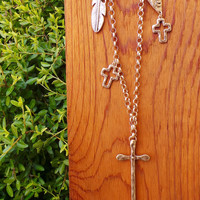 Charmed Cross Collection Necklace