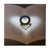 Love Ring and Shadow Heart Tile