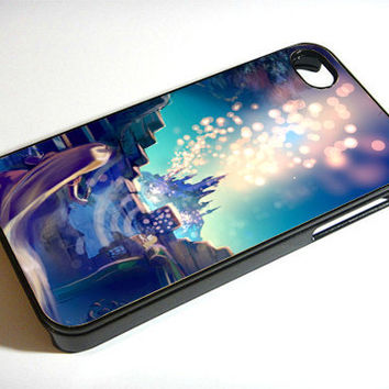 Tangled Fantasy Castle - Print on iPhone 4/4s Case - iPhone 5 Case - Samsung Galaxy S3 - Samsung Galaxy S4