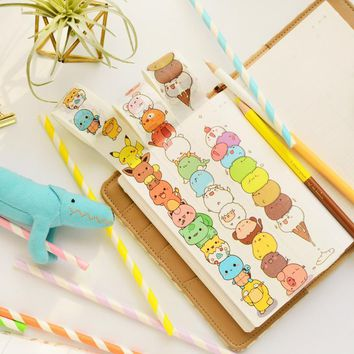1 pcs/lot Cartoon Washi Tape DIY Japanese Paper  Decorative Adhesive Tape/Masking Tape StickersKawaii Pokemon go  AT_89_9