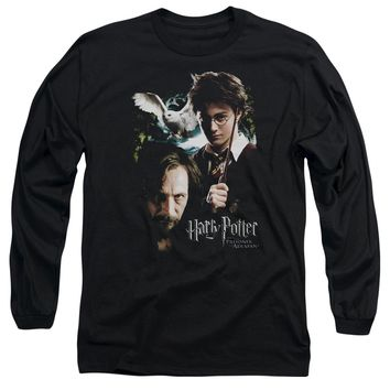 Harry Potter - Harry And Sirius Long Sleeve Adult 18/1 Officially Licensed Shirt