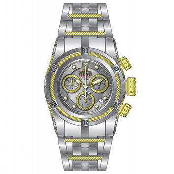 Invicta 14609 Women's Jason Taylor Bolt Chronograph Silver Dial Steel Bracelet Dive Watch