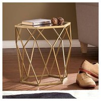 Southern Enterprises Accent Table - Soft Gold : Target