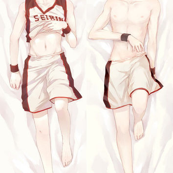 New Kuroko no Basuke Anime Dakimakura Japanese Pillow Cover KNB2 Male