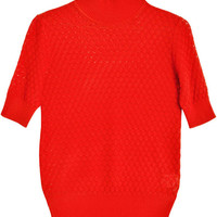 Storm & Marie Knits - Red Clay Short Sleeve Elena | BONA DRAG