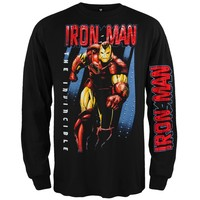 Iron Man - Iron Wall Long Sleeve - Large