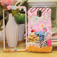 Ice Cream Scoop Series Lilo and Stitch - iphone 5 case samsung galaxy 4 note 3 phone cover