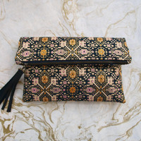 Golden Tapestry Clutch - - Limited Edition