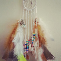 """The Key to my Heart 2"""" Dream Catcher, Bohemian Decor, Living Room Ideas, Gift for her, Gift for him, Baby Gift, Dream Catcher Necklace"""