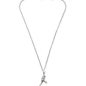 Saint Laurent - Silver-Tone Dinosaur Necklace