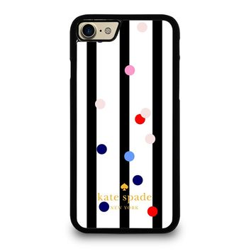KATE SPADE STRIPE POLKADOTS iPhone 7 Case
