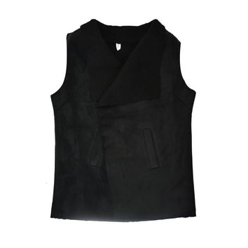 Soft Suede Fleece Lining Vest