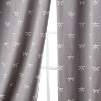 Sweet Dreams Imperial Dragonfly Curtain, 96L and Matching Items