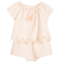 Chloe Baby Girls Classy Onesuit (Mini-me) | New Collection