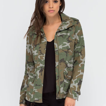 In The Service Camo Utility Jacket