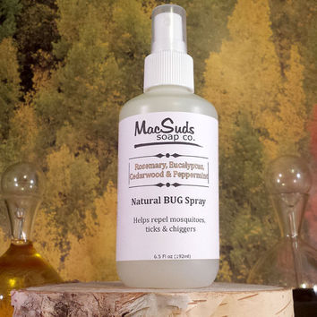 NATURAL BUG SPRAY, Woodsy Scent, Essential Oil Bug Spray, Natural Bug Spray, Natural Bug Repellent, Essential Oil Bug Repellent, No Deet