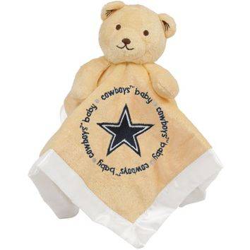 Dallas Cowboys Infant Bear Security Blanket