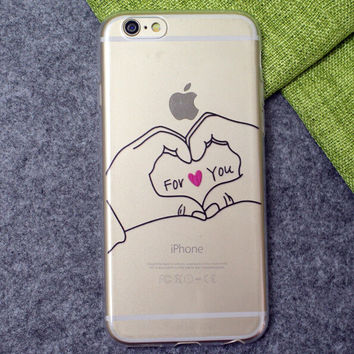 Love for You Case Ultrathin Cover for iPhone 6 6s Plus