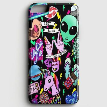 Aliens On We Heart It iPhone 7 Case