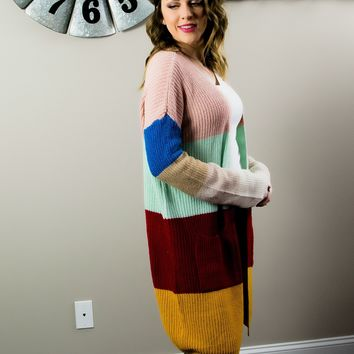 Rainbow Bliss Cardigan