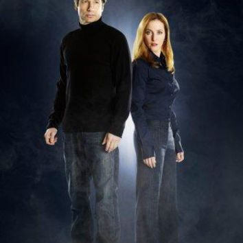 The X Files Cast Metal Print 8in x 12in