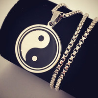 Stylish Shiny Jewelry New Arrival Gift Hip-hop Club Necklace [9095360583]